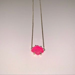 Kendra Scott Ethan necklace in pink